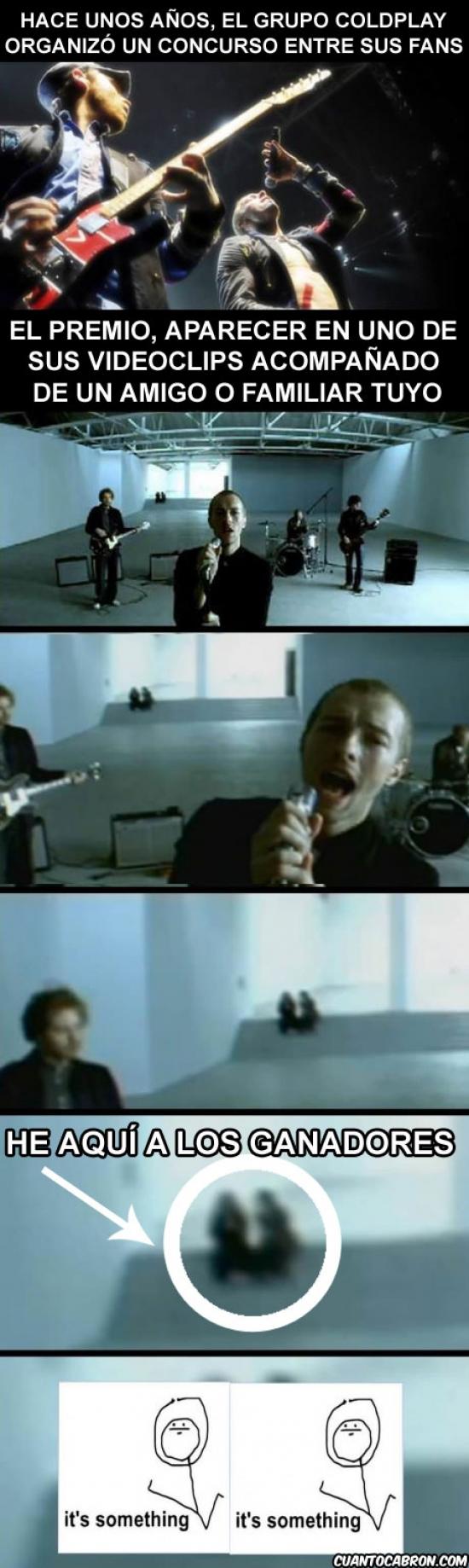 Coldplay y su concurso para salir en su videoclip
