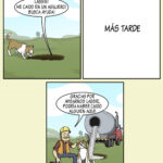 Los perros, siempre ayudando