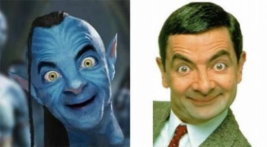 El avatar de Mr. Bean