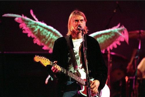 Kurt Cobain, el ángel