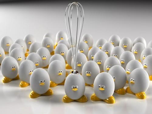 huevo batidora