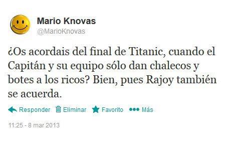 os acordais del final de titanic, pues rajoy tambien se acuerda