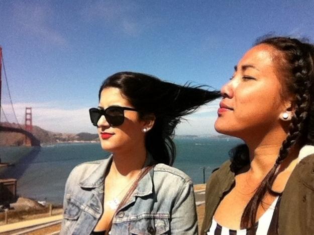 perfect timing chica aspirando pelo