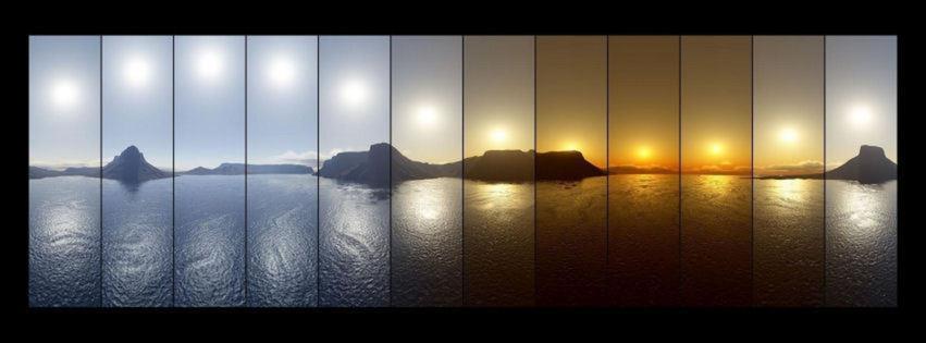 portada para facebook - paisaje en 24 horas