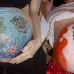 Embarazadas con arte