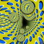 Ilusión óptica: ¿se mueve el dibujo?
