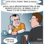 Bárcenas pidiendo dinero para pagar la fianza