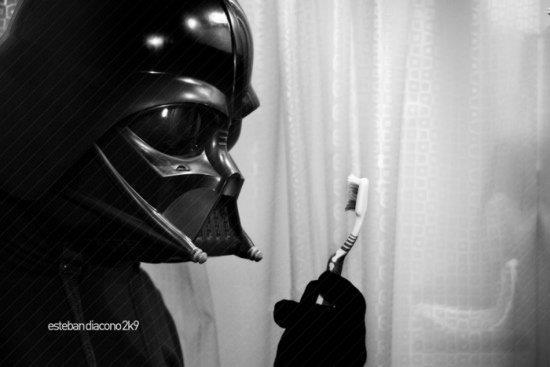 darth vader cepillo de dientes