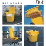 Convirtiendo contenedores en sillones