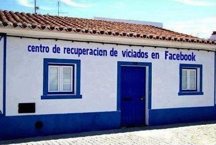 Centro de recuperación de viciados en Facebook