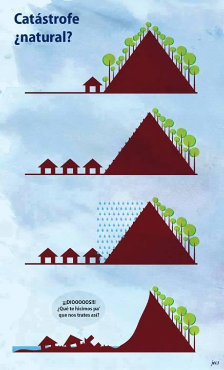 corrimiento de tierras catastrofe natural