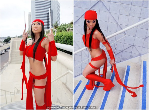 cosplay elektra comic book
