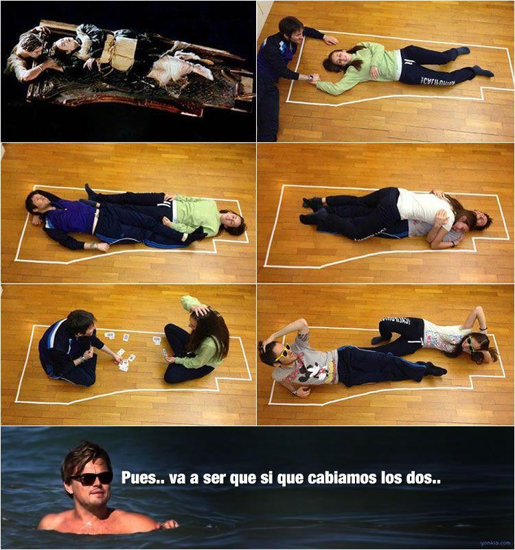 Titanic: ¿Cabían los dos o no cabían los dos?