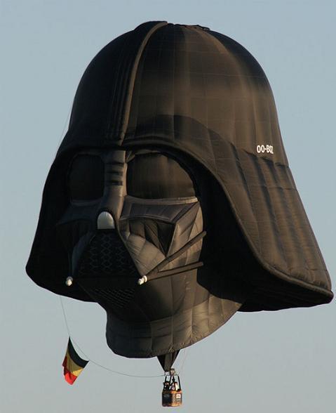 El globo en el que todo fan de Star Wars querría ir