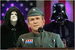 Bush, líder de la estrella de la muerte
