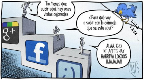Google+ vs Facebook vs Tuenti