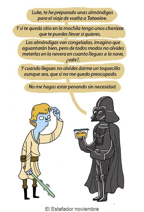 Darth Vader a Luke
