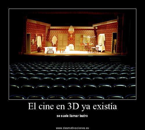 El cine en 3D ya existía
