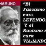 El fascismo se cura leyendo. Y el racismo se cura viajando