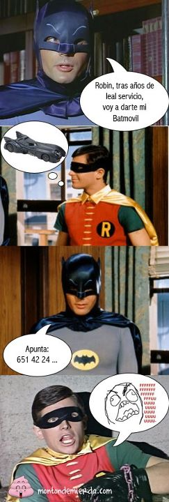 El regalo de Batman