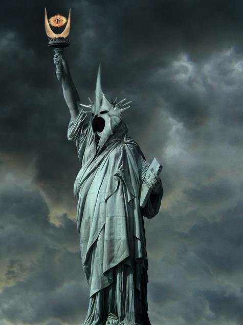 Estatua de la Libertad - Saurón