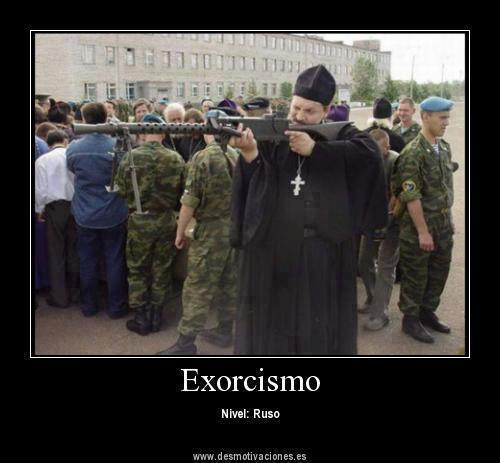 Exorcismo (nivel ruso)
