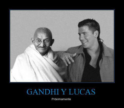 Gandhi y Lucas