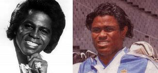 Parecidos razonables - James Brown y Fredson Camara