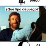 Jigsaw quiere jugar con Chuck Norris