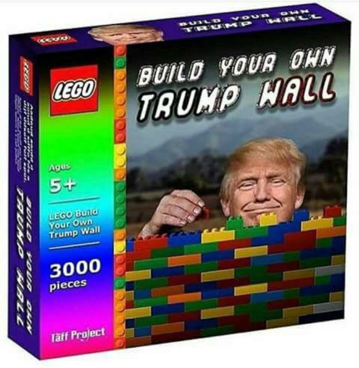 Nuevo juego: Build your own Trump wall