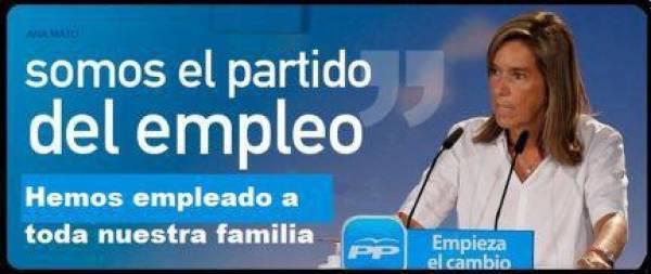 PP, el partido del empleo