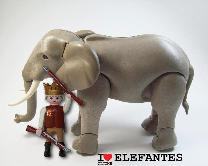 Playmobil - I love elefantes