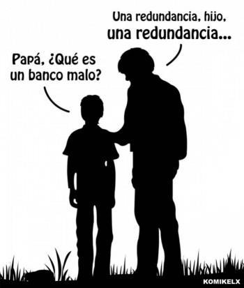 Papá, ¿qué es un banco malo?