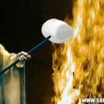 Saruman calentando su nube