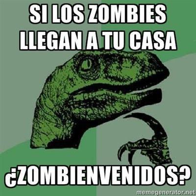 Si los zombies llegan a tu casa...