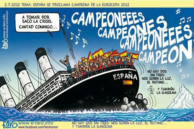 Mientras tanto, en España...