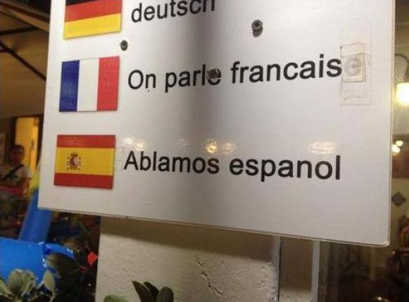 'Ablamos' español