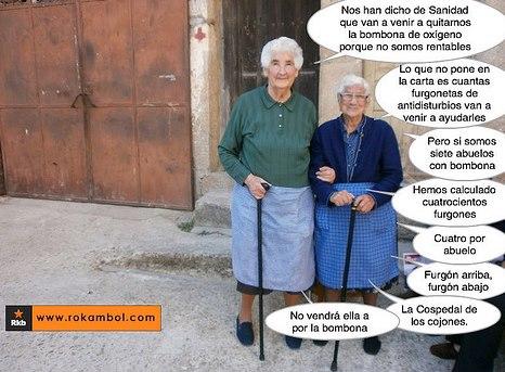 Las abuelas contraatacan