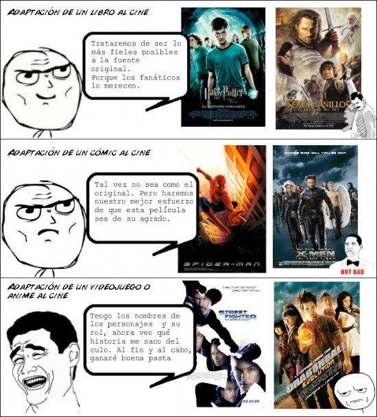 Adaptaciones al cine