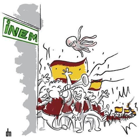 aficionados-futbol-cola-del-INEM
