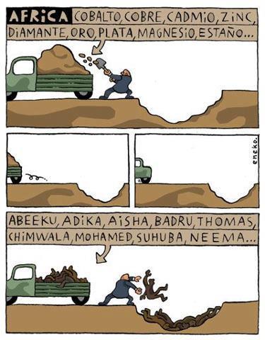 El trabajo en África