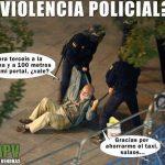 La policía para lo que haga falta