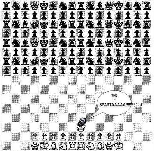 Leónidas - Tablero de ajedrez