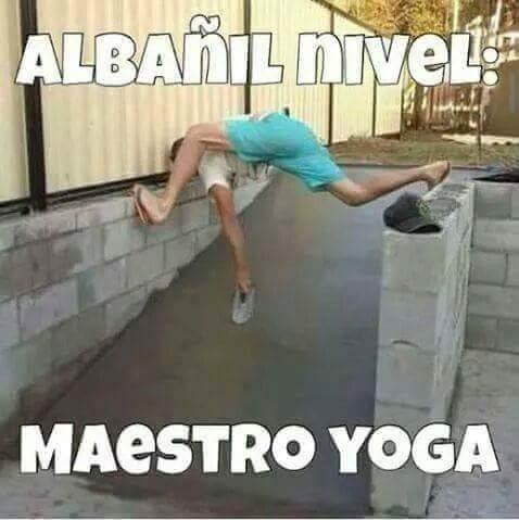 Albañil nivel: Maestro de yoga