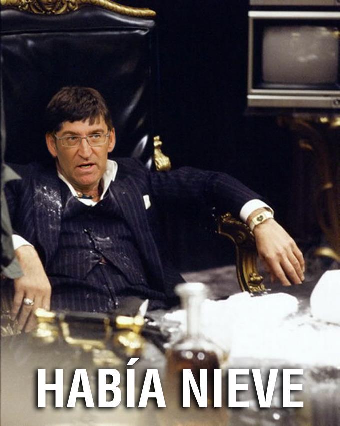 Alberto Núñez Feijóo: Había nieve