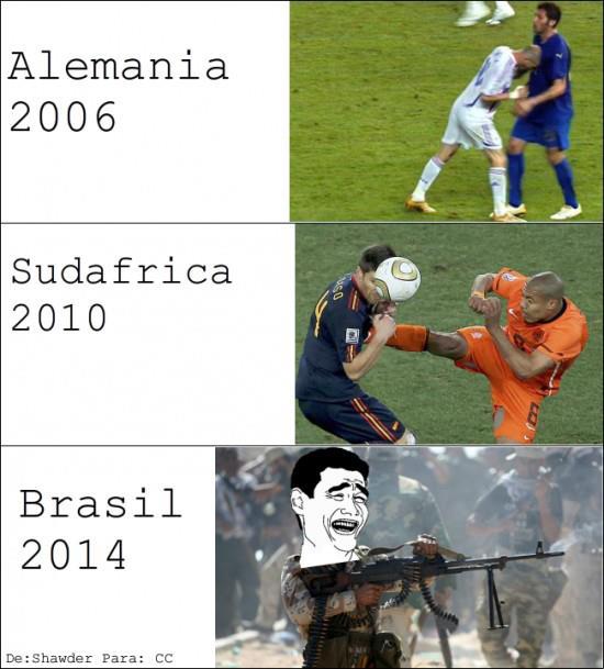 ¿las sorpresas de brasil 2014?