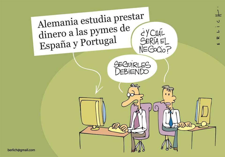 alemania-estudia-prestar-dinero-a-las-pymes-de-espana-y-portugal-y-cual-seria-el-negocio-seguirles-debiendo