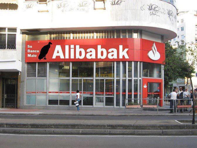 Alibabak: Su banco malo