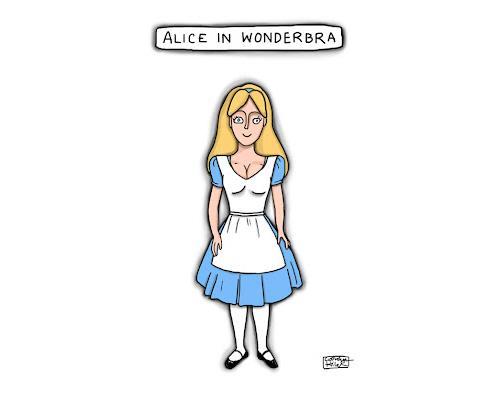 Alice in Wonderbra