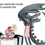 Para mamá alien